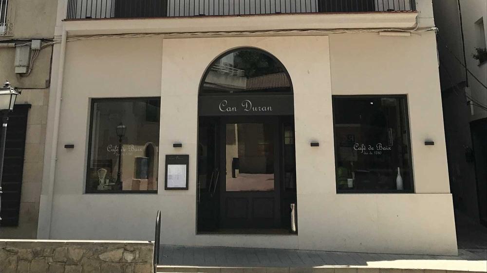 Restaurant Can Duran Alella Maresme Enoturisme Catalunya 01