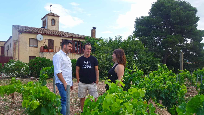 Visita Josep Foraster , el celler familiar a tocar de Montblanc
