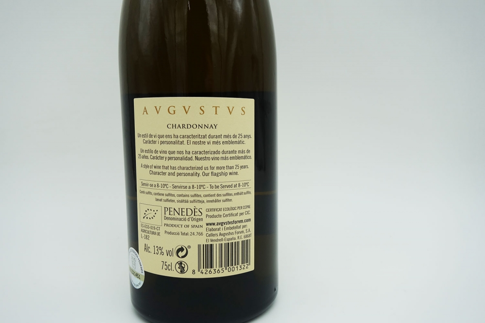 Avgvstvs Chardonnay Penedès 05