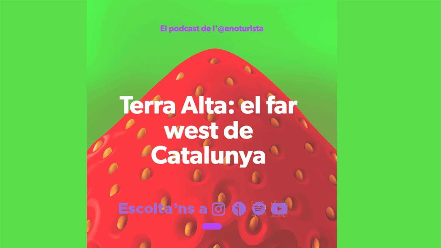 Nou podcast! Terra Alta: el far west de Catalunya