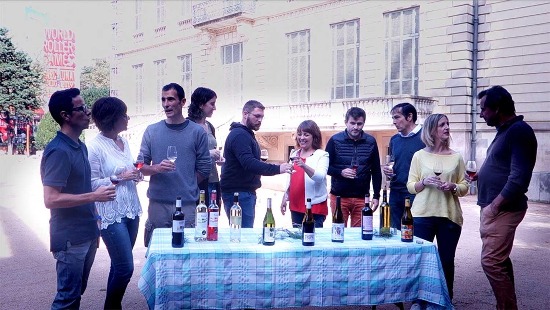 La festa del Vi Novell a Barcelona